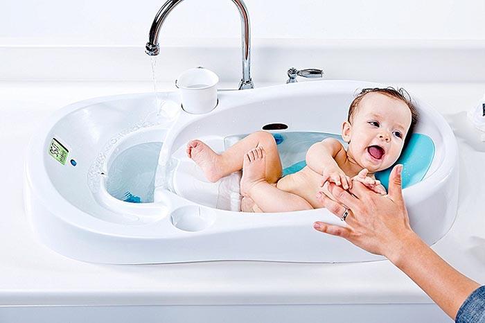Cách tắm cho bé sơ sinh