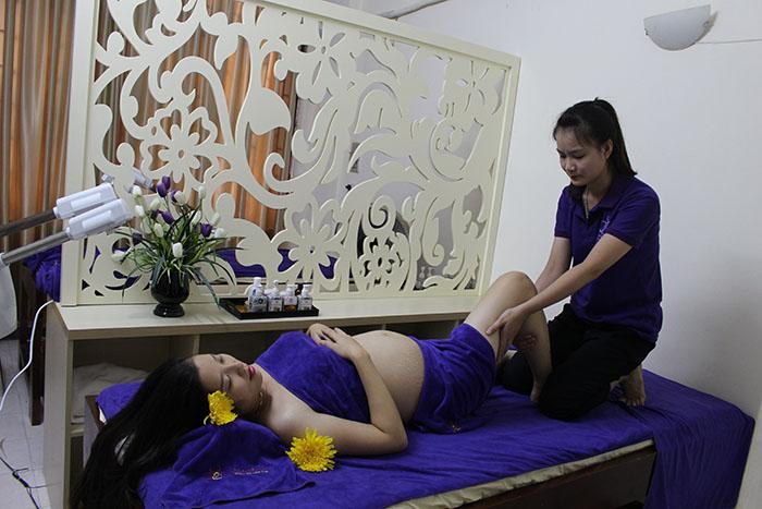 Mang thai có nên đi spa massage không