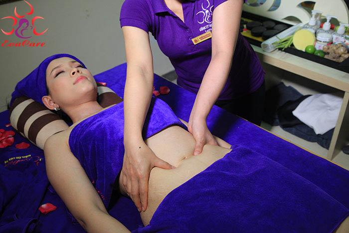 Massage sau sinh