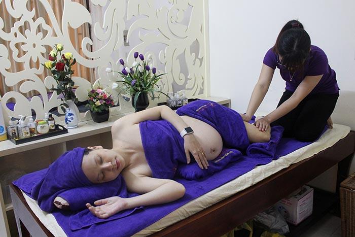 Lưu ý khi massage cho bà bầu