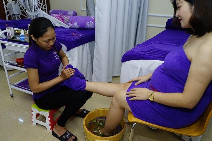 Massage bà bầu tại Hà Nội