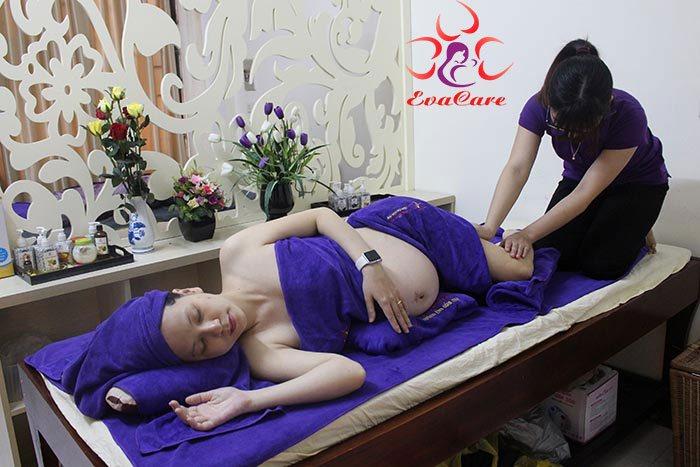 Massage bầu tại nhà