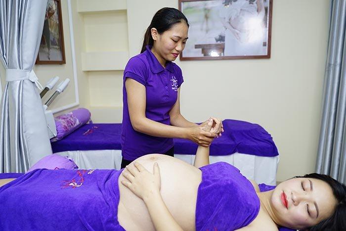 DỊch vụ massage cho bà bầu tại nhà Hà Nội