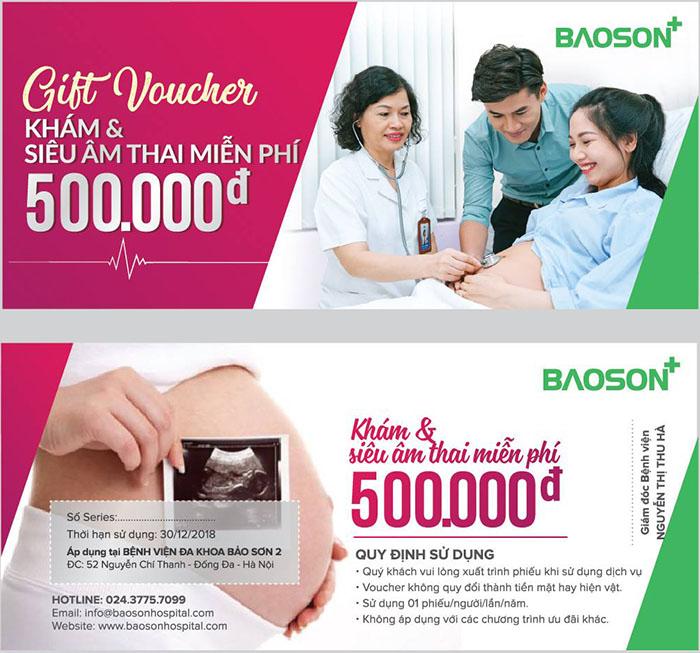 Khám thai và siêu âm thai miễn phí