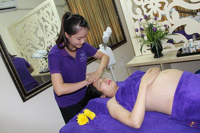 Spa Massage cho bà bầu ở đâu tốt