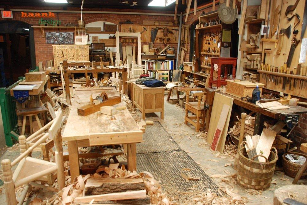 Xưởng sản xuất đồ gỗ trang trí nội ngoại thất