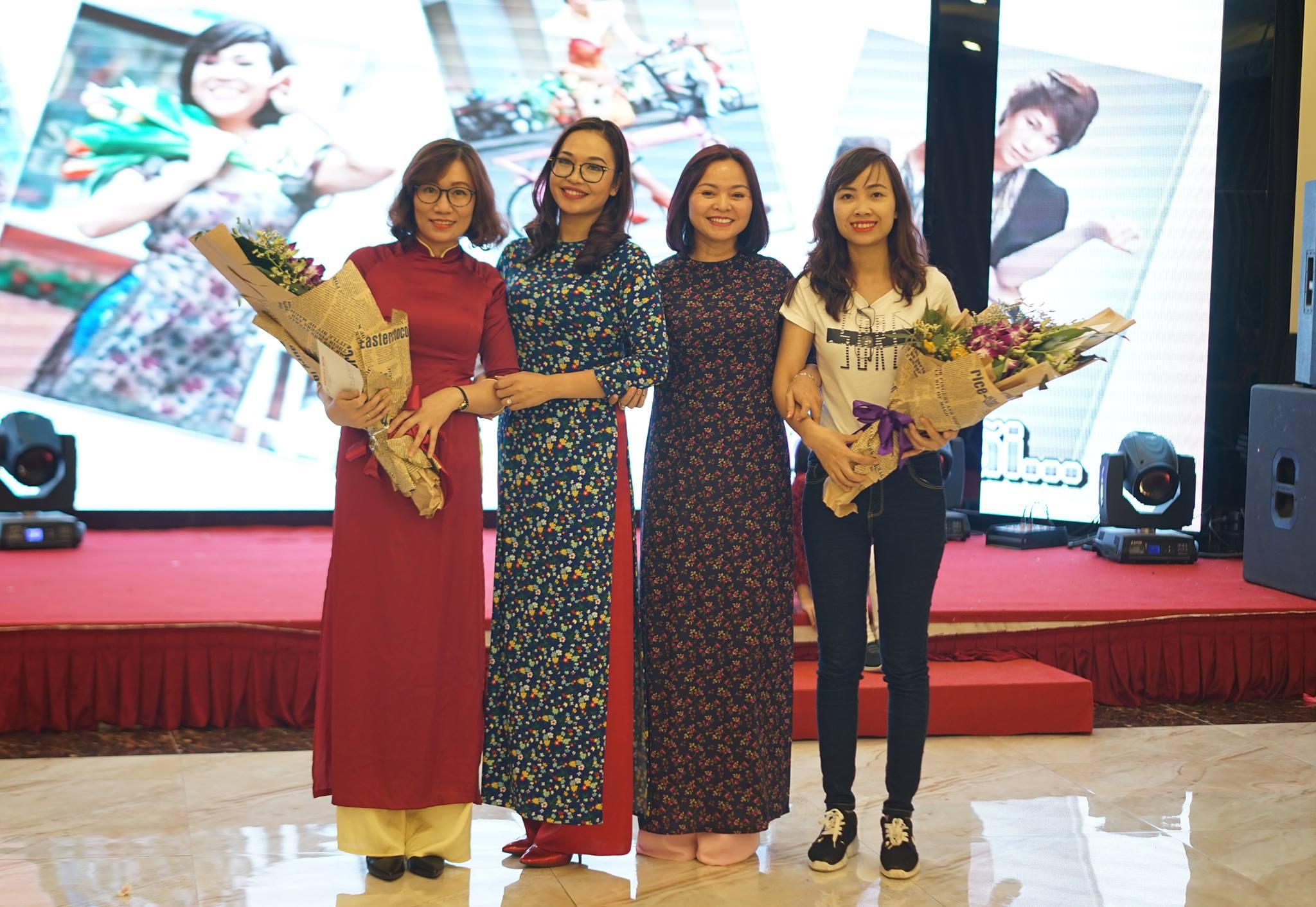 Vinh danh giáo viên dạy giỏi cấp trường: Cô Trần Hà, Cô Nguyễn Luyến