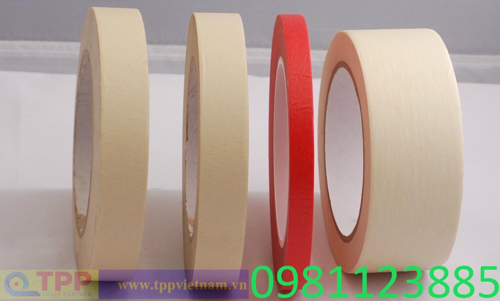 băng dính giấy sản xuất và cung cấp bởi TPP Việt Nam