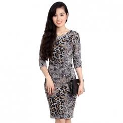 Đầm ren tay lửng Zara Basic xuất khẩu