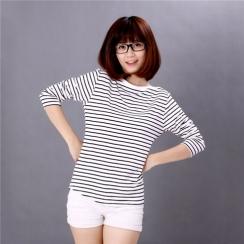 Áo thun nữ sọc ngang thời trang Hàn Quốc