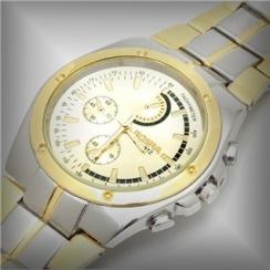 Đồng hồ nam mạ vàng Rosra