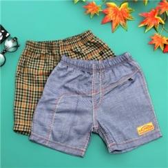 Combo 2 quần short kaki cho bé trai từ 1 - 6 tuổi