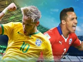 Giao hữu quốc tế: Brazil 2-0 Argentina