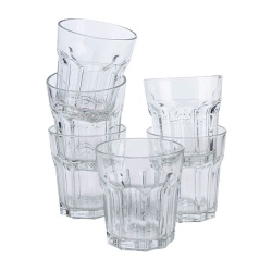 Bộ cốc thủy tinh