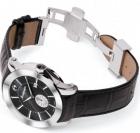 Đồng hồ Montegrappa NeroUno Steel Black Dial