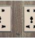 Ổ cắm đa năng + Cổng sạc USB A77&78